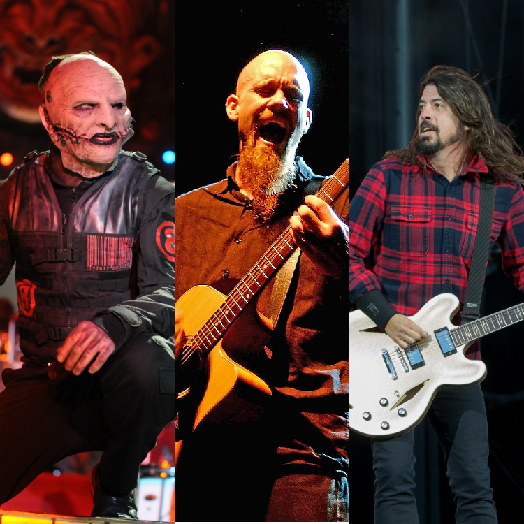 Punk supergroup featuring Dave Grohl, Corey Taylor, Nick Oliveri