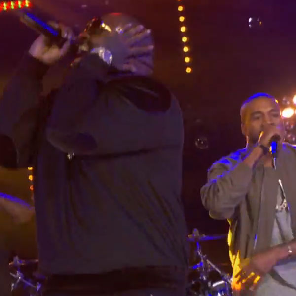 Watch: Rick Ross performs 'Sanctified' with Kanye West + Big Sean