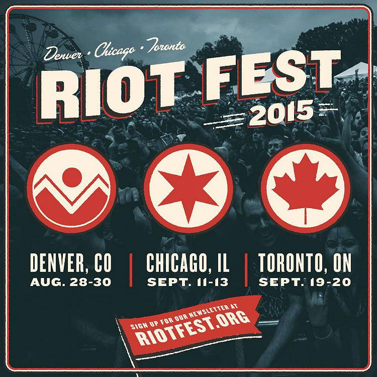 Riot Fest 2015 lineups announced