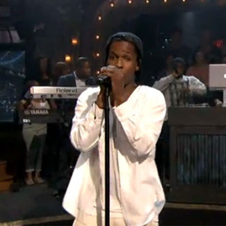 A$AP Rocky peforms 'Goldie' with The Roots - watch