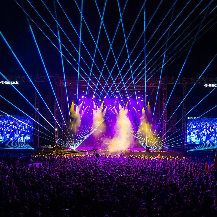 Best festival headliners Radiohead Muse Aphex Twin Aerosmith Moderat