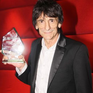Ronnie Wood wins awards double for Absolute Radio show
