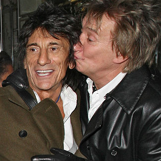 Keith Richards and Rod Stewart to be best men at Ronnie Wood wedding