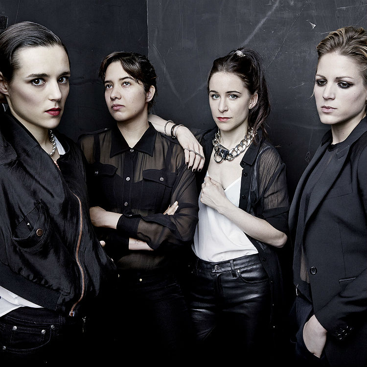Savages interview, drummer Fay Milton on twee, crowds, phones