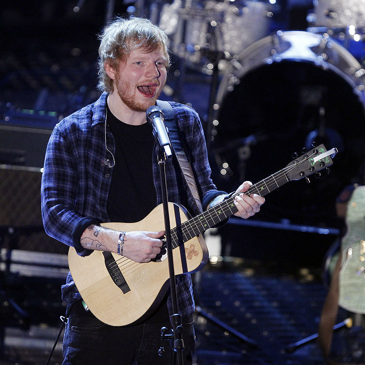 Ed Sheeran shows support for 'bullied' X Factor contestant
