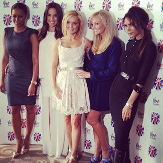 Spice Girls sell their old dresses for childrens' charities