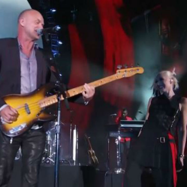 Watch: Sting and No Doubt perform 'Message In A Bottle'