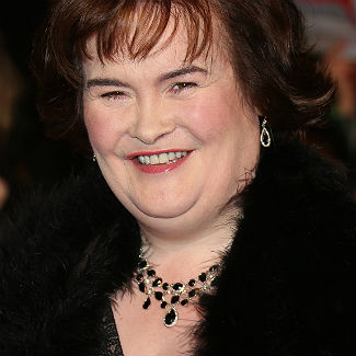 Susan Boyle 'cold under her long johns' on the set of her first movie