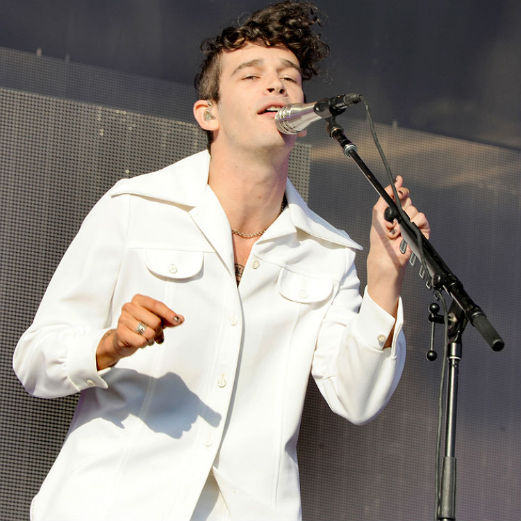 The 1975's Matt Healy makes powerful Europe speech at Glastonbury set