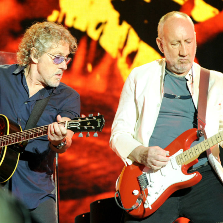 The Who headline Glastonbury festival, photos