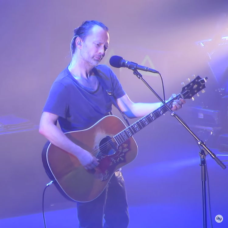 Radiohead's Thom York tells fans to calm the fuck down at Roundhouse