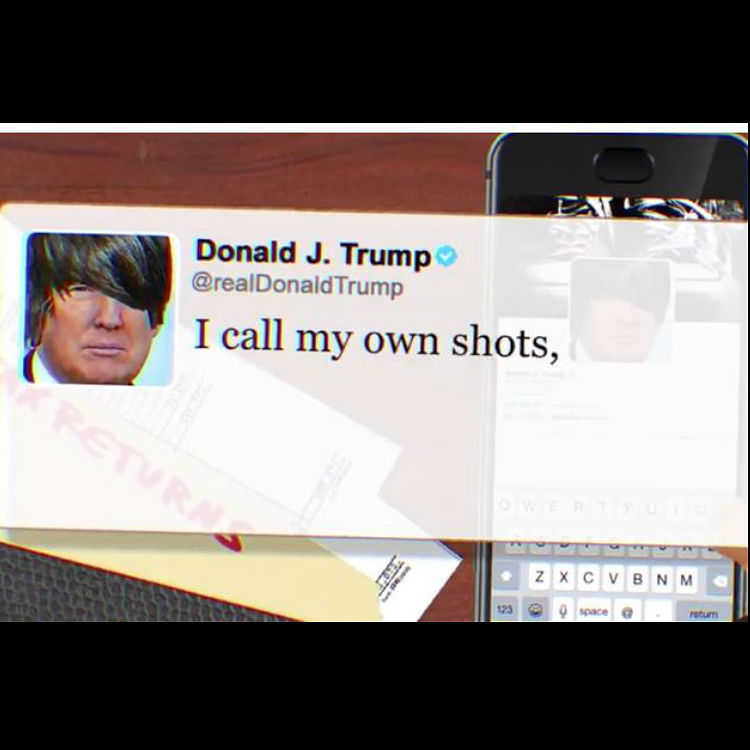 Donald Trump's tweets make for an angsty emo song - listen