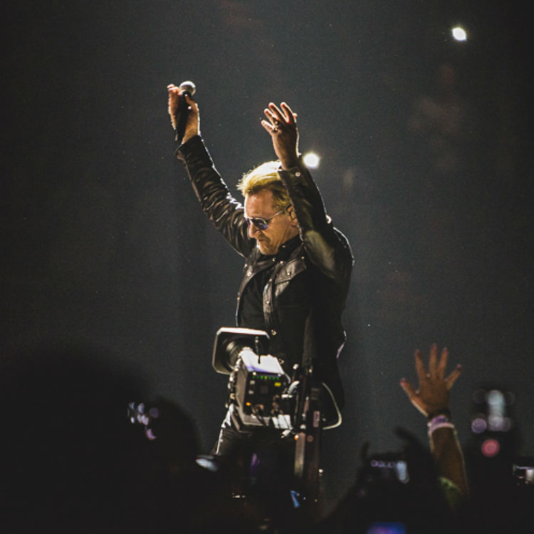 Exclusive photos from U2's spectacular show at The Forum in LA