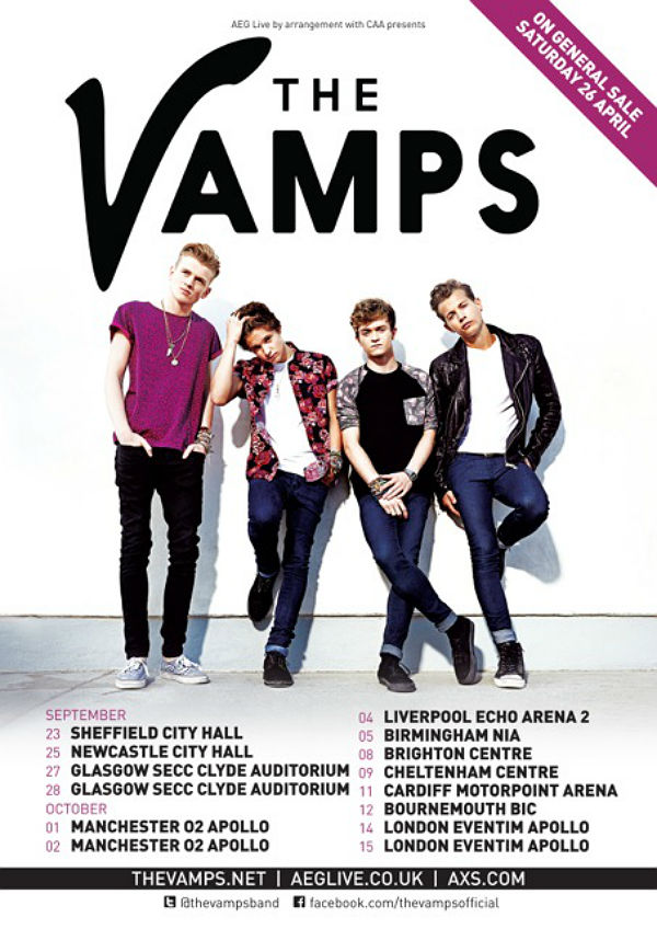 the vamps meet and great 2014 birmingham