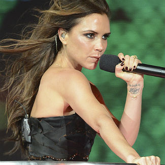Victoria Beckham 'sick' with nerves before Olympics closing ceremony