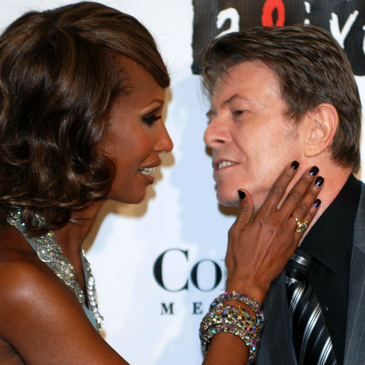 David Bowie's wife Iman speaks out after cancer death, funeral twitter
