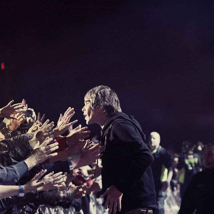 Ian Brown driving band Stone Roses