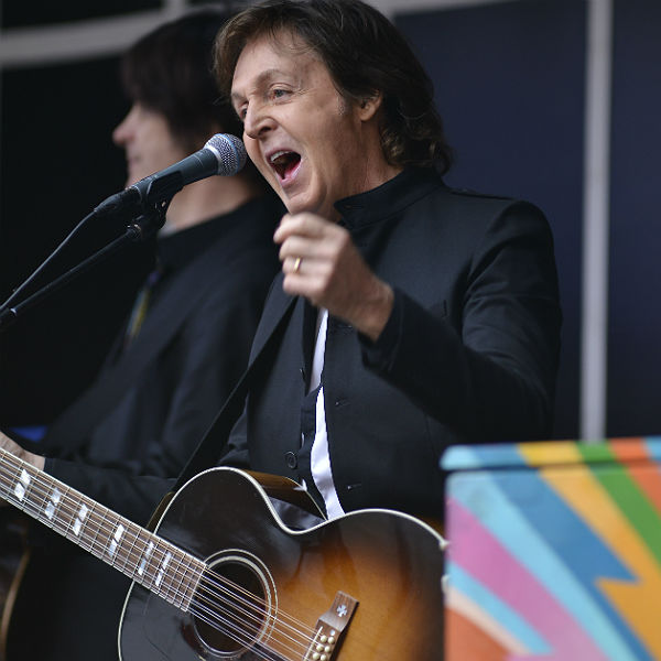 Paul McCartney to sign copies of new album in London HMV today