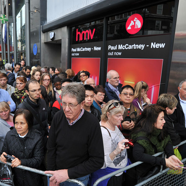 HMV's 150 Oxford Street store closes to make way for Sports Direct