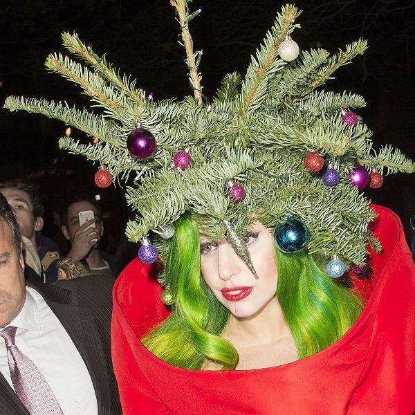 Watch: Lady Gaga sings to Christmas Tree at Jingle Bell Ball, London ...