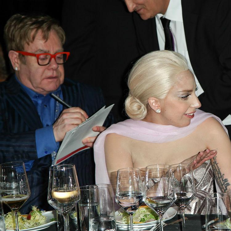Elton John working on Lady Gaga new album songs net worth tour tickets