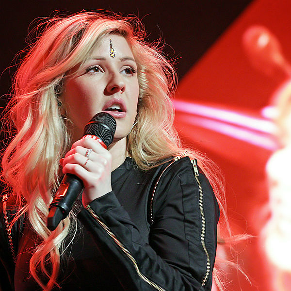 Ellie Goulding teases she's finished recording Bond theme, Abbey road