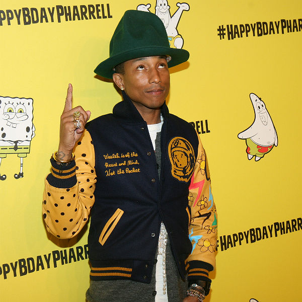 Listen: Pharrell reveals new song 'Here' from Spider Man 2 soundtrack