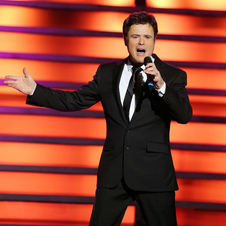 Donny Osmond UK tour dates 2016, tickets, London, Glasgow