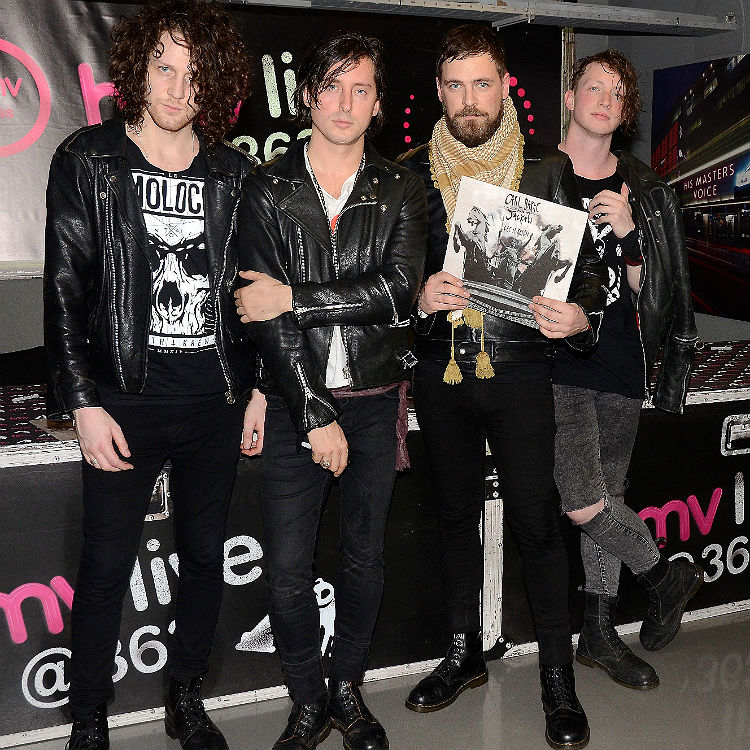 Carl Barat & The Jackals live at HMV Oxford Street, London - photos