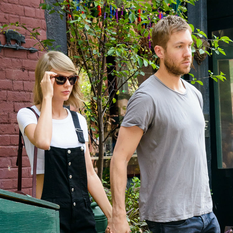 Calvin Harris posts on Instagram about Taylor Swift split