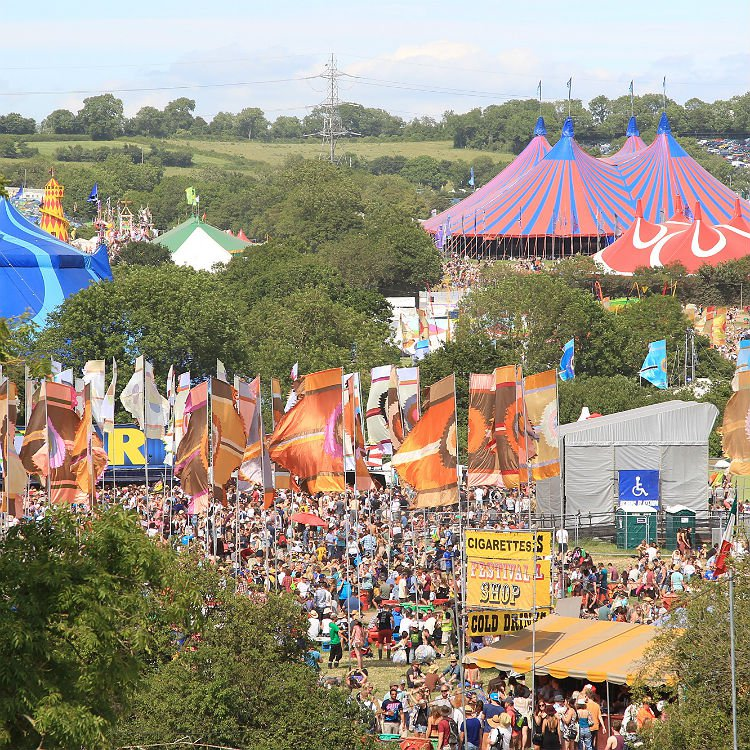 Vote on who you would like to headline Glastonbury in 2016