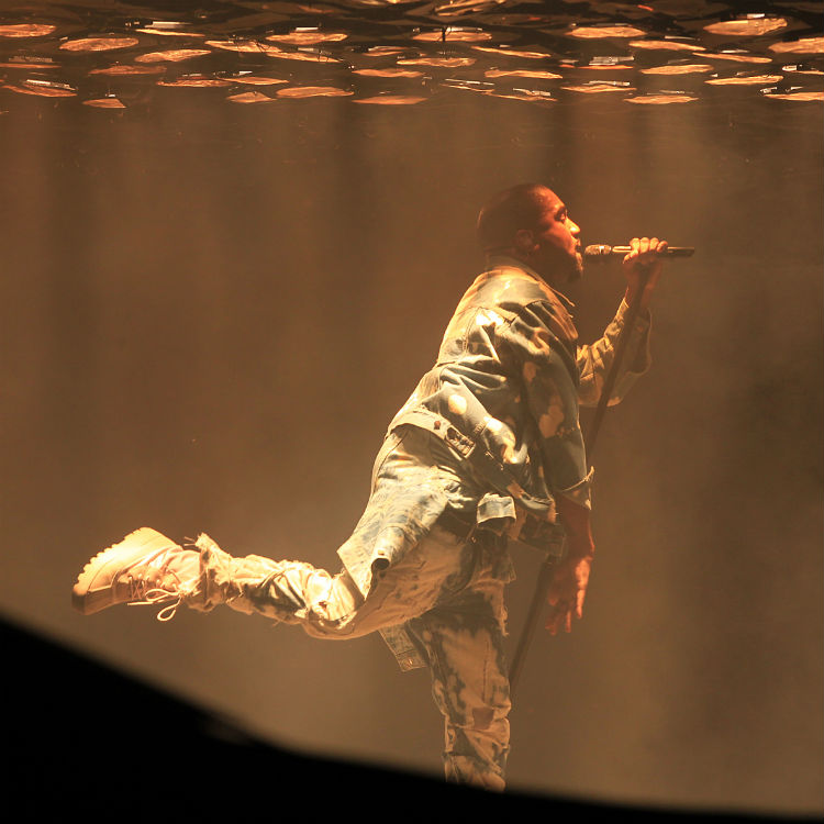 Kanye West covers Bohemian Rhapsody at Glastonbury, forgets words
