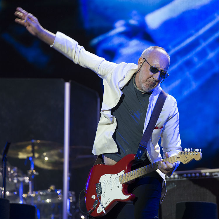 The Who headline Glastonbury Festival 2015, reference Kanye West