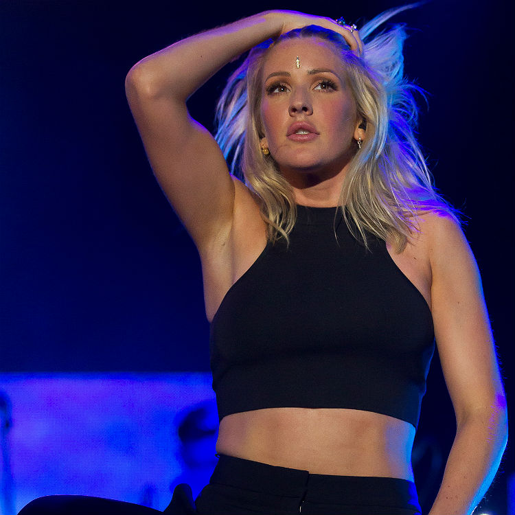 Army star Ellie Goulding on anxiety, panic attacks - tour interview