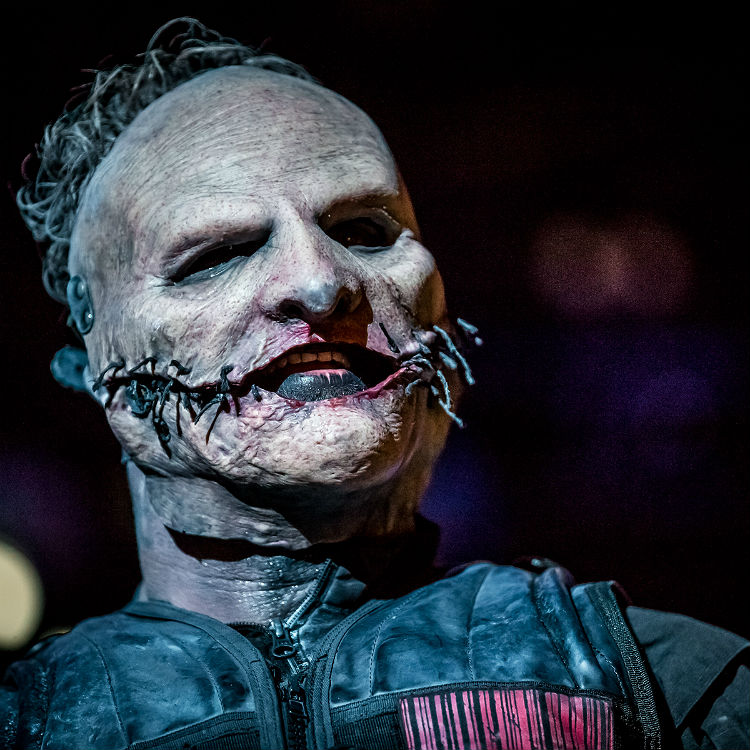 Slipknot Corey Taylor falls at Georgia gig after broken neck surgery