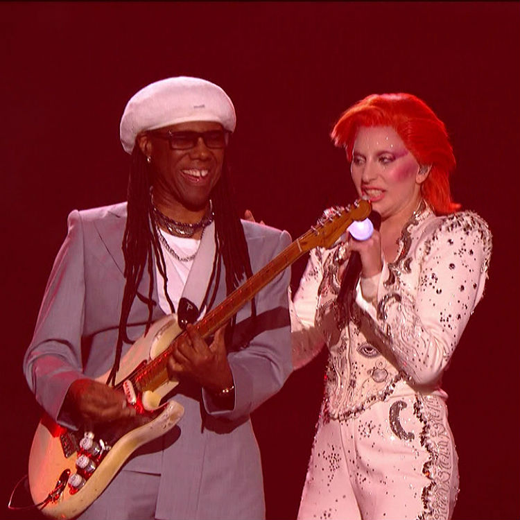 Nile Rodgers responds to attack on Lady Gaga David Bowie Grammys watch