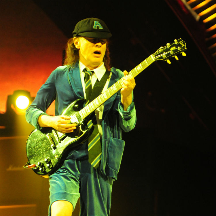 Angus Young and co film short video to discuss Brian Johnsons depature