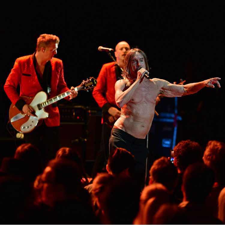 Iggy Pop and Josh Homme live at Royal Albert Hall review, setlist