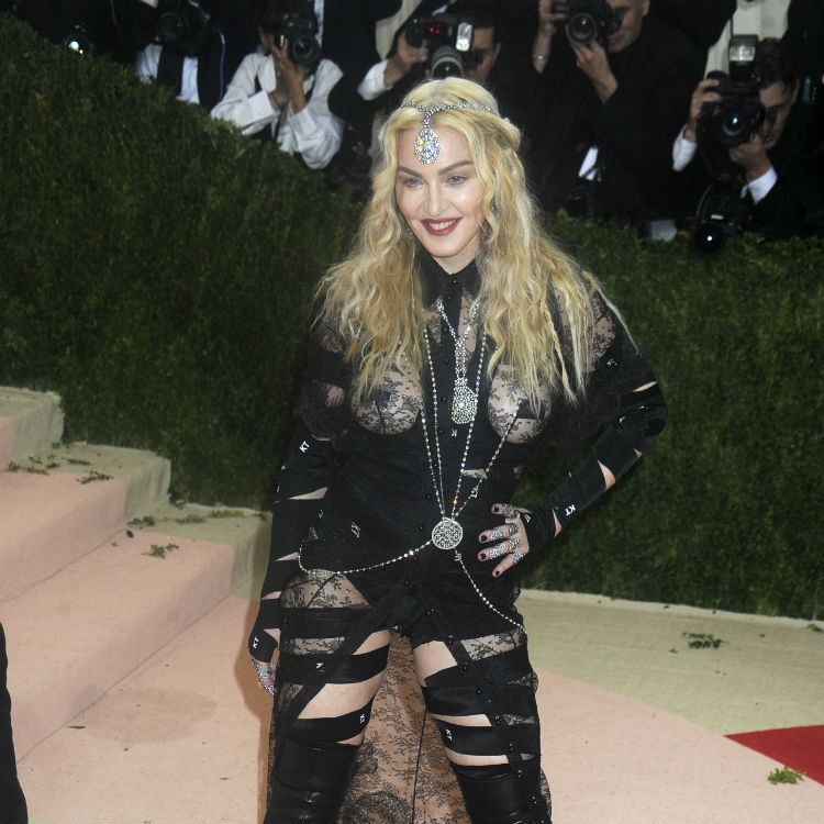 Madonna claims her risqu� Met Gala dress was a political statement