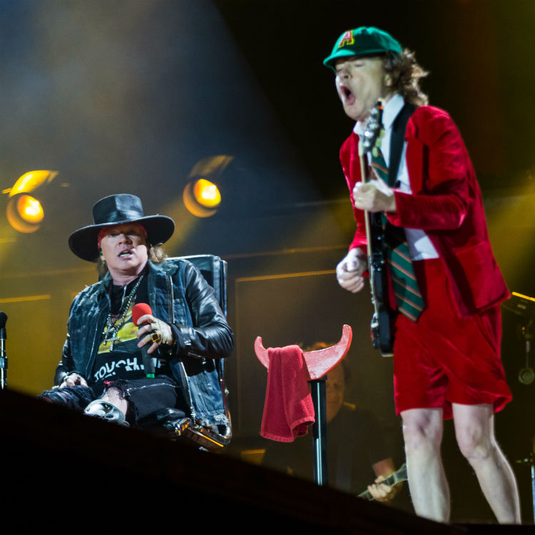 AC/DC interview, Axl Rose wants to keep touring, tour dates 2016