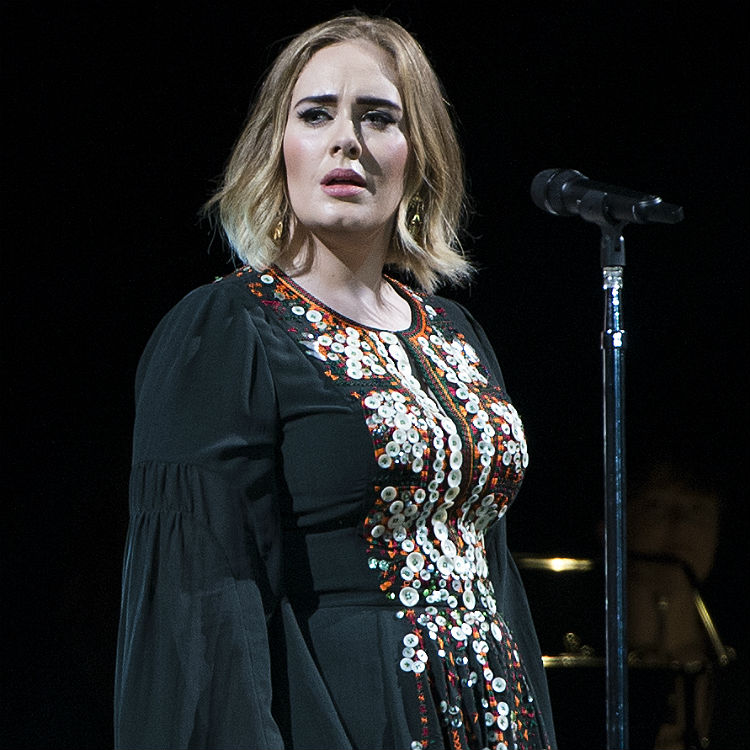 Adele live at Glastonbury swears 33 times during her set - watch