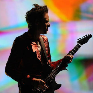 Muse frontman Matt Bellamy talks babies and camping trips