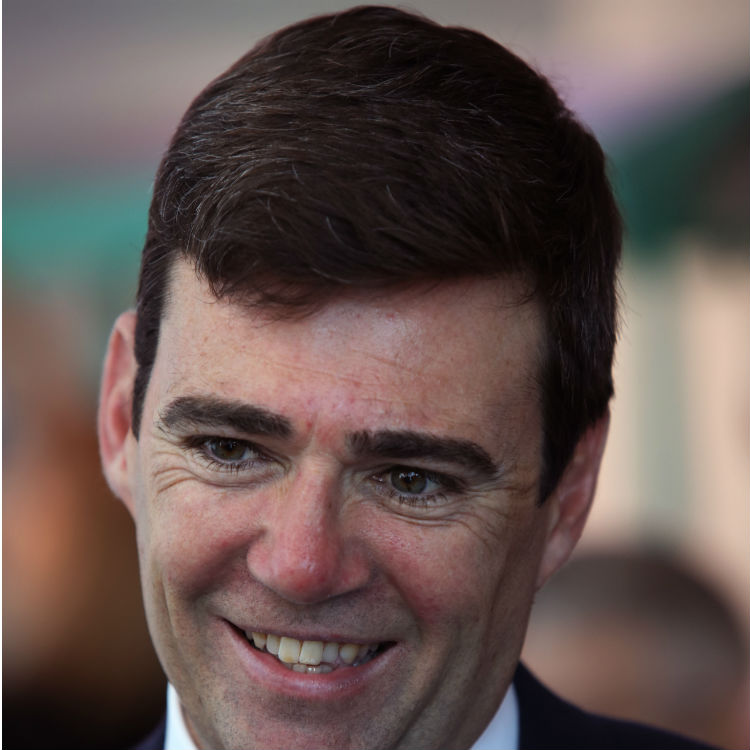 Andy Burnham to channel Tony Wilson if he becomes mayor of Manchester