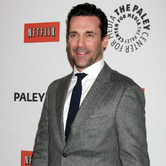 Mad Men star Jon Hamm in hilarious new Aimee Mann video