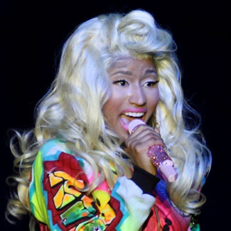 Nicki Minaj demands caravan for wigs at V Festival
