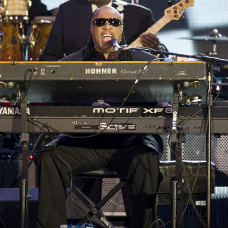 Headliner Stevie Wonder closes Bestival 2012