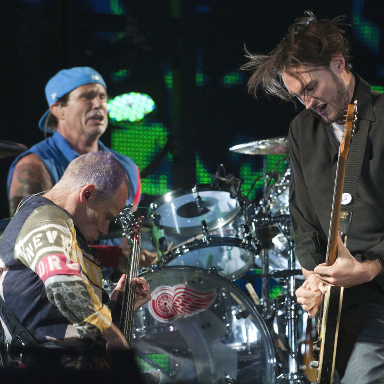 Red Hot Chili Peppers cover David Bowie Cracked Actor bernie sanders