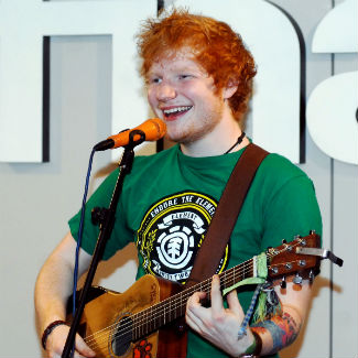Ed Sheeran shot in stomach during bank robbery