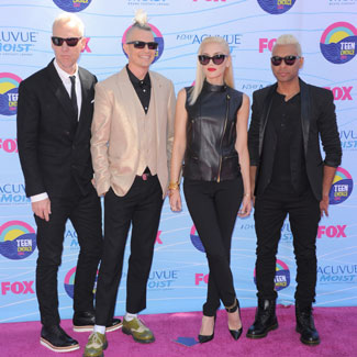 No Doubt perform 'Settle Down' at Teen Choice Awards 2012 - watch