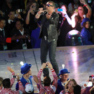 George Michael: Olympic ceremony critics can 'F*ck Off'!